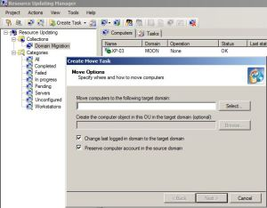 QMM Resource Updating Manager
