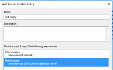 Access Control Policies and Issuance Authorization Rules in